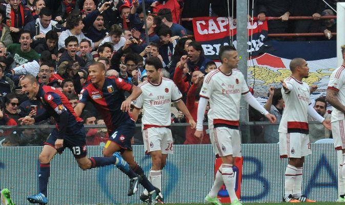 FOTO Genoa l'ammazzagrandi. Anche il Milan cade a Marassi