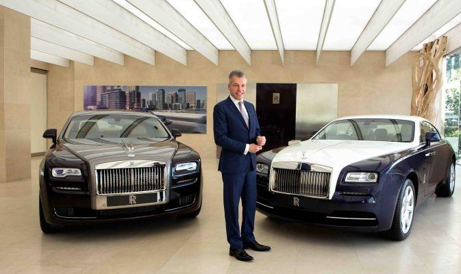 Rolls-Royce: il lusso non conosce crisi (foto)