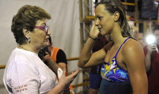 FOTO Federica Pellegrini, che feeling al Trofeo Citt di Milano con Mara Maionchi