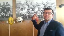 Guido Vaciago nella redazione di Tuttosport