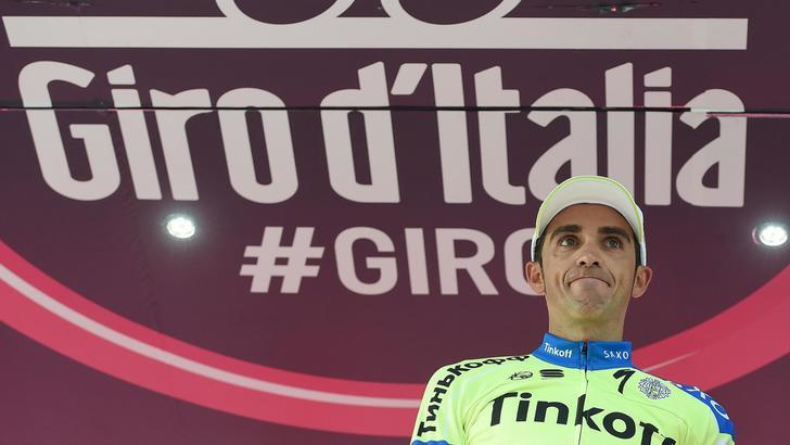 Giro, 10ª tappa a Boem, Contador in rosa