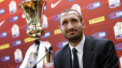 Juve, Chiellini: «Vogliamo la Coppa. L'ultima brucia ancora»