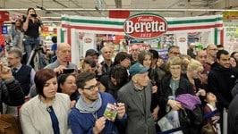 Torino, selfie e autografi per Gaston, Peres e Martinez