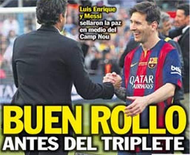 In Spagna sicuri: &laquo;Tutto<br /> tranquillo&nbsp;prima del Triplete&raquo;&nbsp;