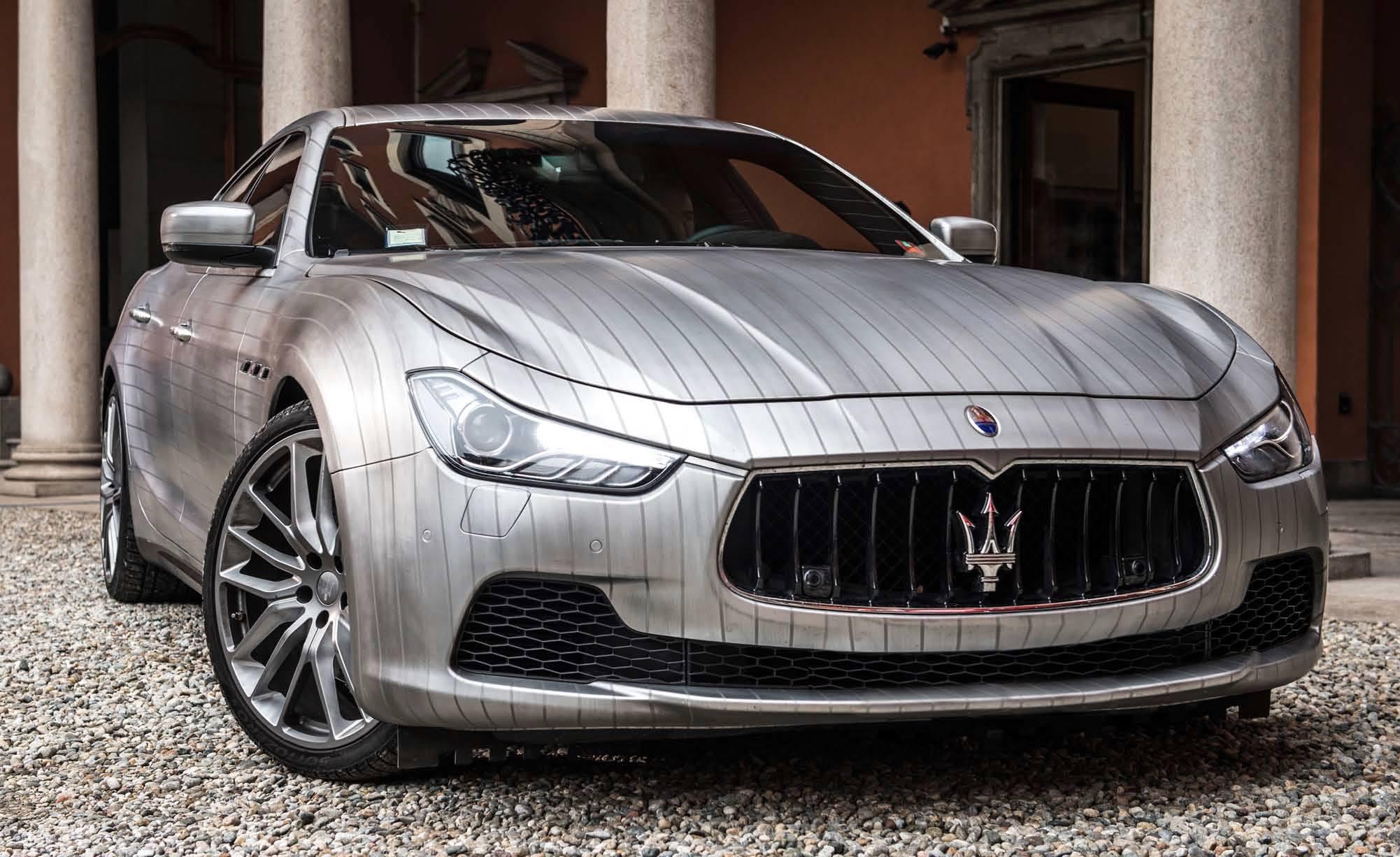 Maserati Ghibli, Lapo Elkann la vede gessata