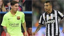 Tevez: «Voglio la Champions e una Juve perfetta»