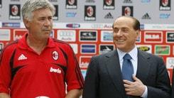 Berlusconi: «Speriamo di convincere Ancelotti»