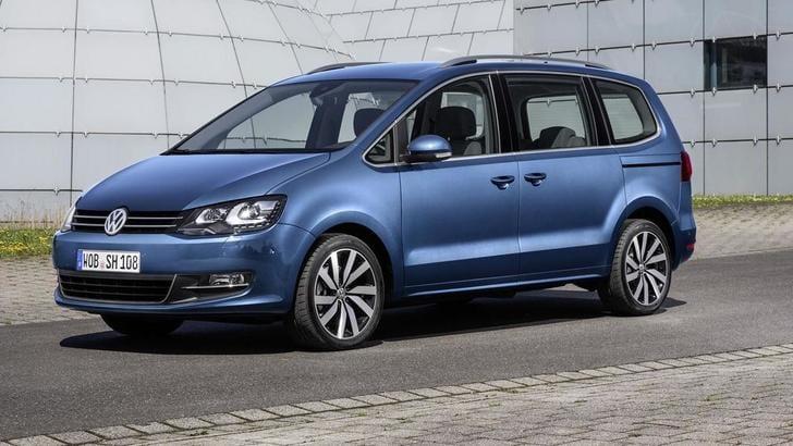 Volkswagen Sharan: consumi più bassi