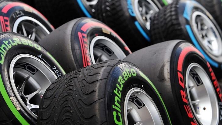 F1 Pirelli: «Danno esterno alla gomma di Rosberg»