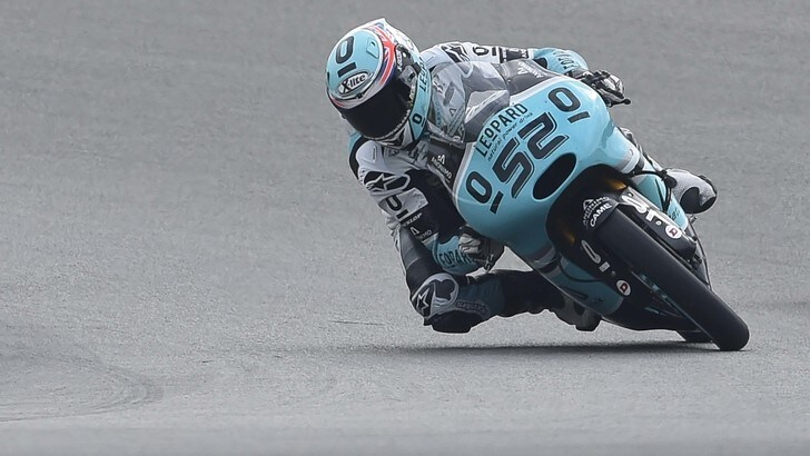 Moto3 Assen, il warm up è di Kent