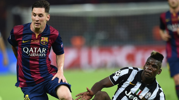 Il Barça in viaggio da Pogba