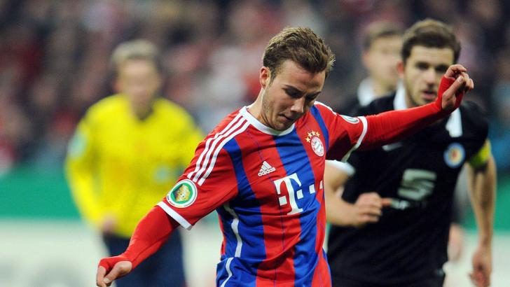 Goetze in panchina col Bayern: aspetta la Juve