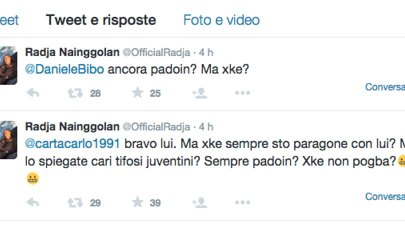 Nainggolan: «Basta paragoni con Padoin. Juventini, paragonatemi a Pogba»