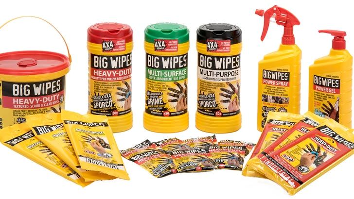 """BigWipes per motociclisti: operazione """"mani pulite"""""""