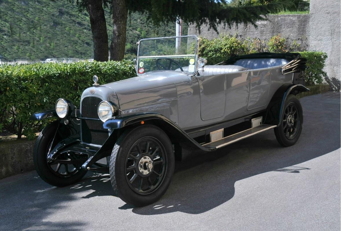 Fiat 501 Torpedo, in vendita l'esempalre appartenuto a Vittorio Emanuele III