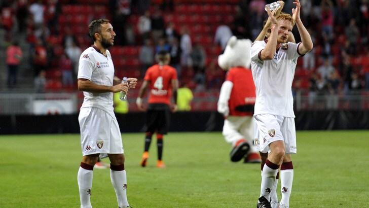 Il Toro cade 1-0 col Rennes: decide Mendes, Bovo sbaglia un rigore