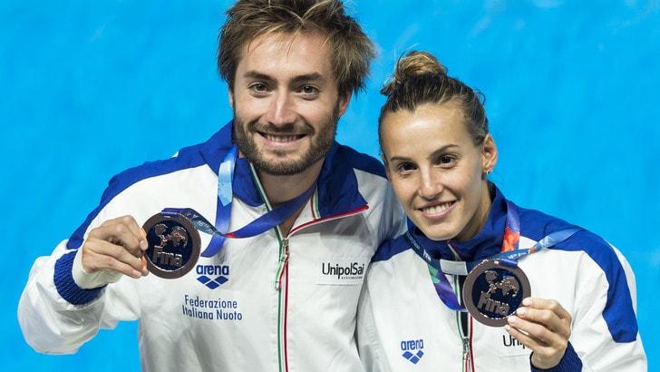 Tuffi, Mondiali: Cagnotto-Verzotto, è medaglia di bronzo