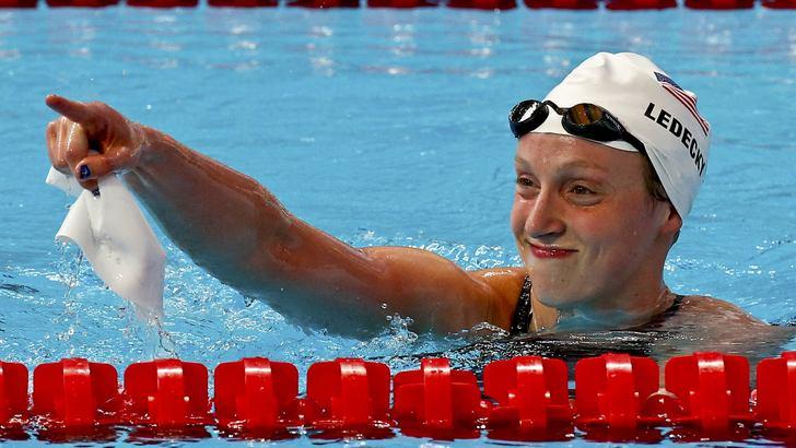 Nuoto,record mondiale per Ledecky nei 1500 sl