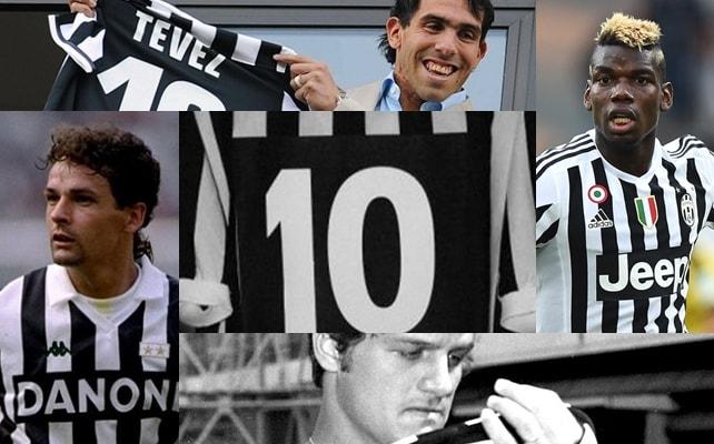 Da Pogba a Sivori, ecco i numeri 10 della Juventus