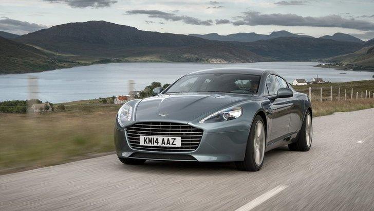Aston Martin, arriva la Rapide elettrica da 800 cv