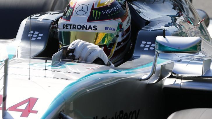 F1 Gp Belgio, Hamilton domina le terze libere