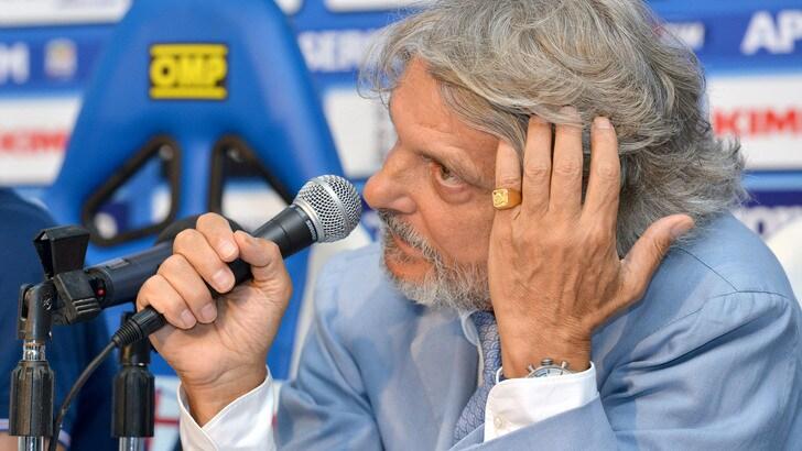 Ferrero: «Soriano resta alla Samp finché vorrà»