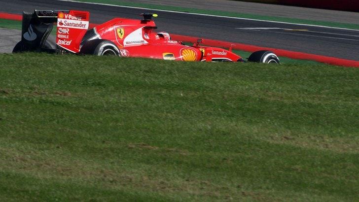 F1 Gp Belgio, Raikkonen si ferma nelle Q2