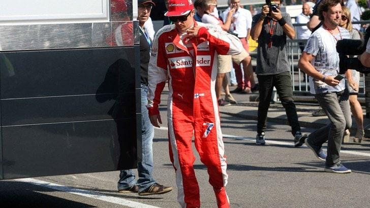 F1 Gp Belgio: penalità per Raikkonen per la sostituzione del cambio