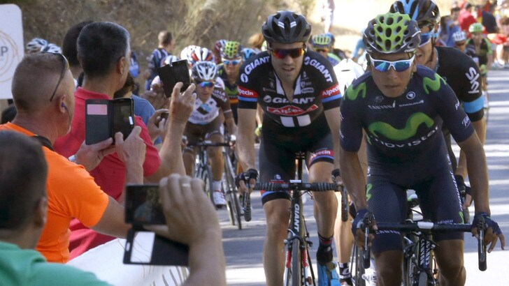 Vuelta, Sagan vince la terza tappa, Chaves resta leader