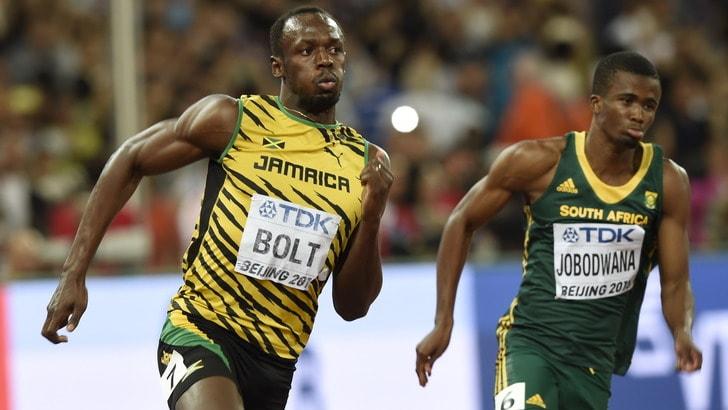"""Mondiali, Bolt """"passeggia"""" verso la finale dei 200"""