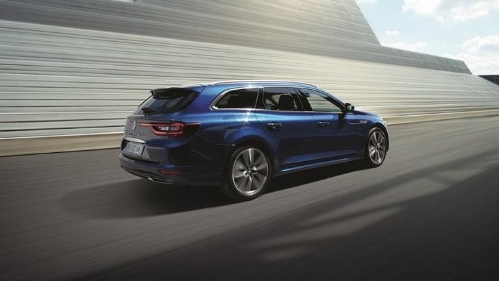 Nuova Renault Talisman Sporter, ecco la wagon premium