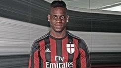 Milan, ufficiale Balotelli: «Il club crede in me»