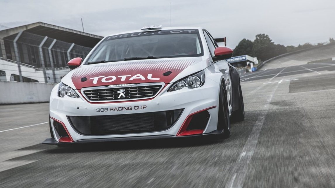 Peugeot 308 Racing Cup, la GTi scende in pista