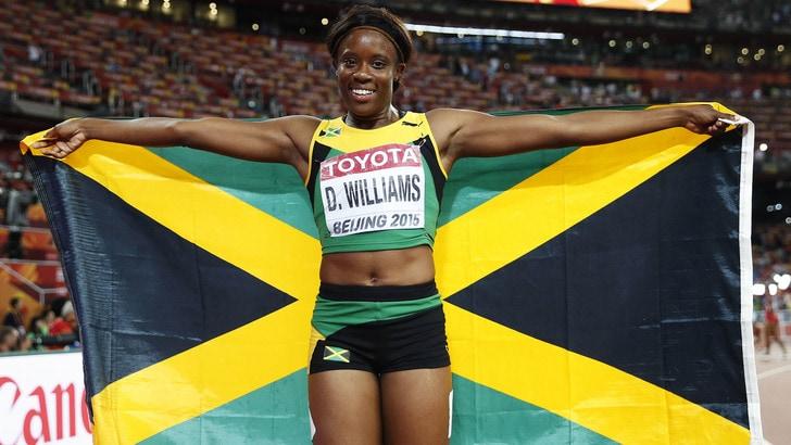 Mondiali, è Giamaica power: Williams oro nei 100 ostacoli