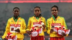 Mondiali, tripletta etiope nei 5000 donne