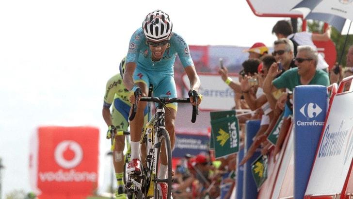 Vuelta, in Spagna comanda l'italiano Aru