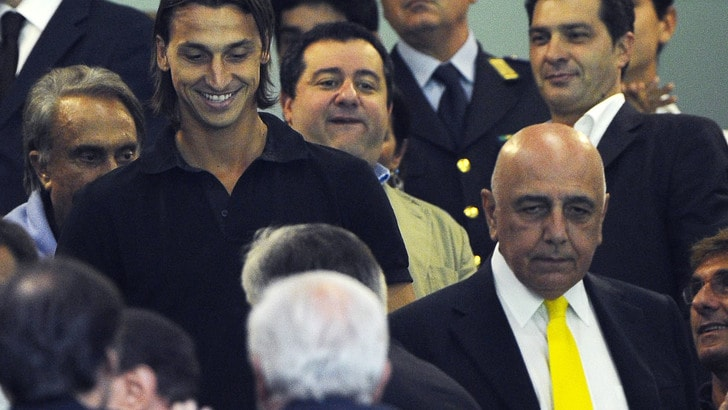 Raiola precisa: «Ibrahimovic fiero dell'interesse del Milan»