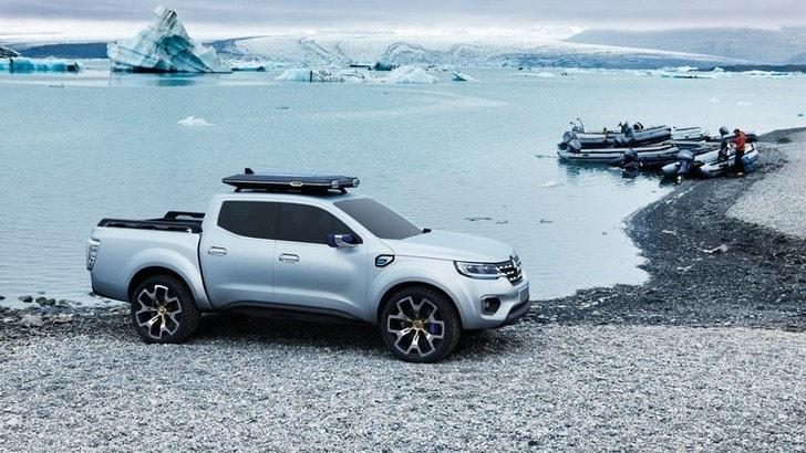 Renault Alaskan, arriva il pick up multiuso