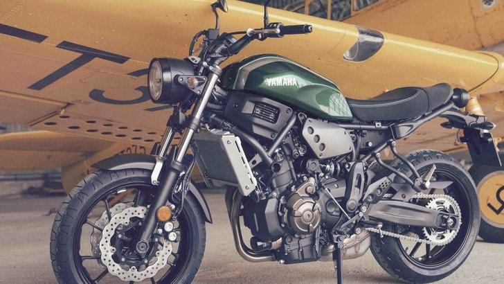 Yamaha XSR700: arriva a novembre