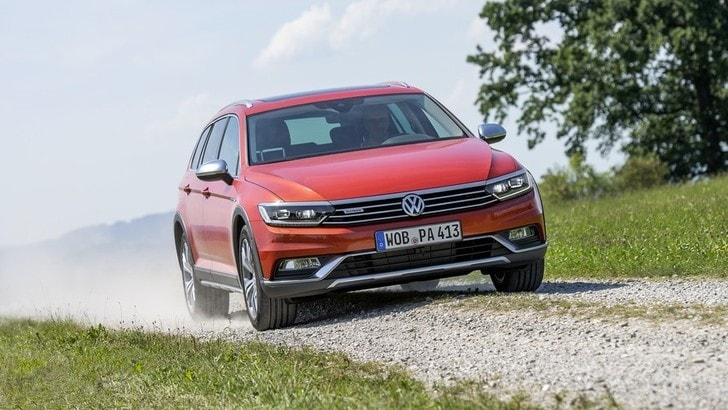 Volkswagen Passat Alltrack, prime impressioni