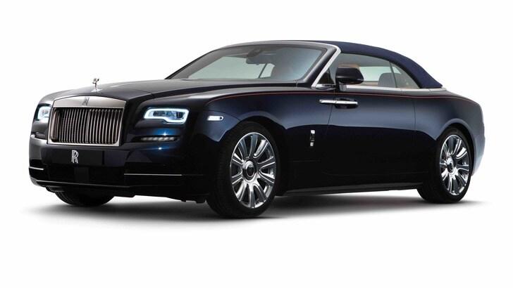Rolls Royce Dawn: 4 posti da 250 km/h