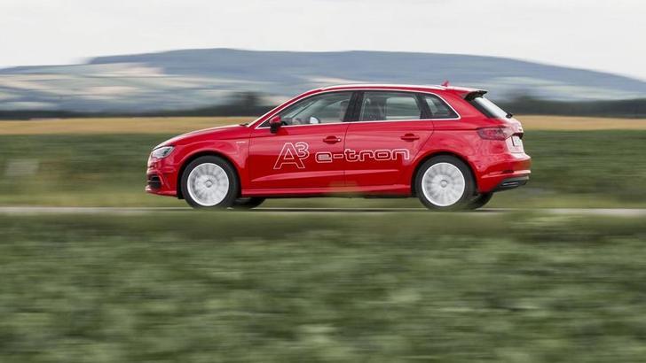 Audi A3 Sportback e-tron: la prova su strada