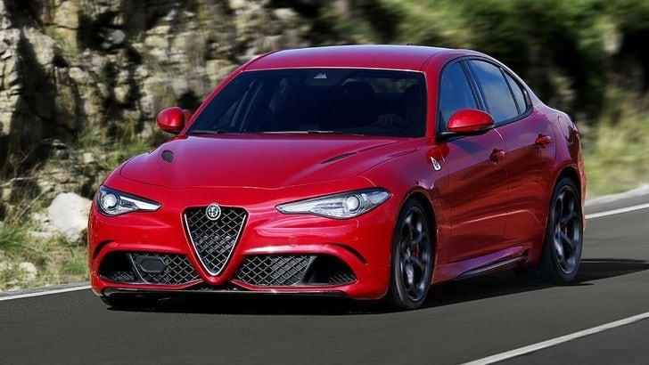 Alfa Romeo Giulia Quadrifoglio: Salone Francoforte LIVE