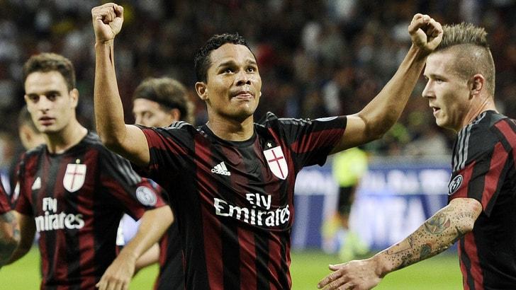 Milan-Palermo 3-2: Bacca show, che doppietta!