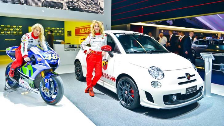 Salone di Francoforte: Abarth 595 Yamaha Factory Racing