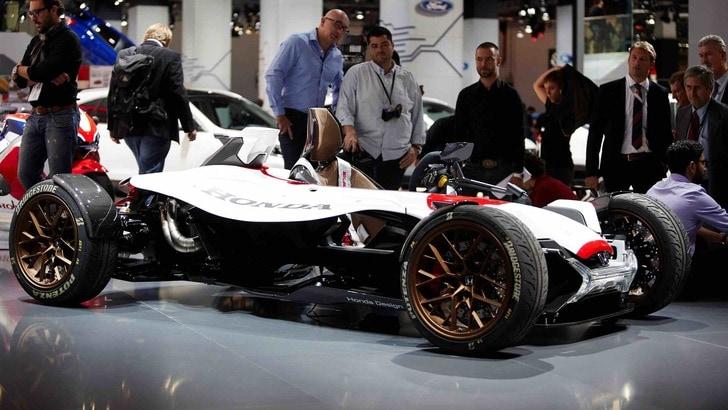 Honda con la MotoGp a 4 ruote,Salone Francoforte