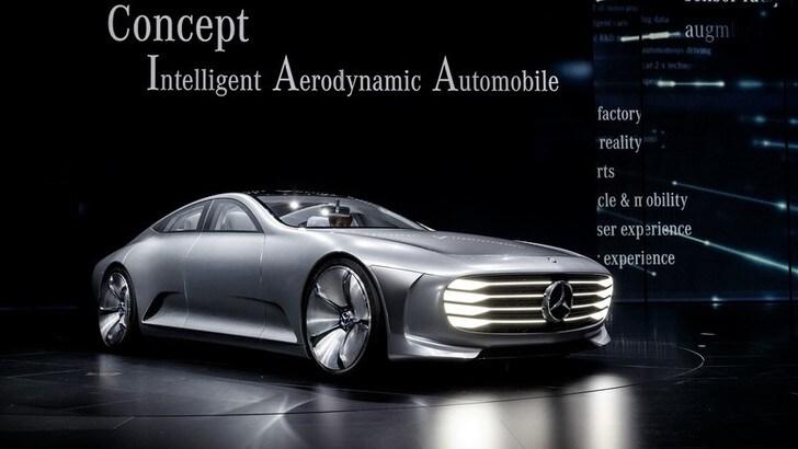 Mercedes concept IAA, la coupé mutante