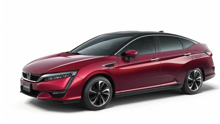 Honda FCV, pronta la berlina a idrogeno
