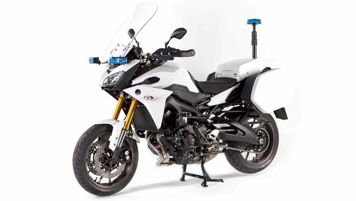 Yamaha: ecco le moto per la Polizia