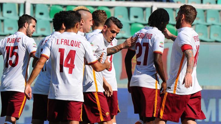 Serie A: Roma, poker al Palermo, Inter e Udinese pari con le genovesi